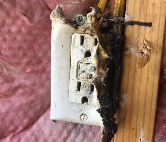 Electrical Fire in Vancouver