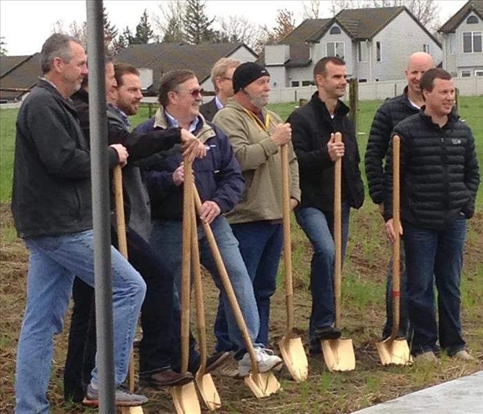 Parade of Homes Ground Breaking Ceremony