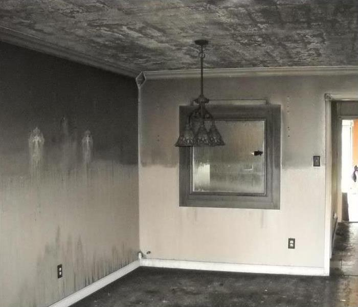Fire Damage Why Hire SERVPRO For Smoke & Fire Damage?