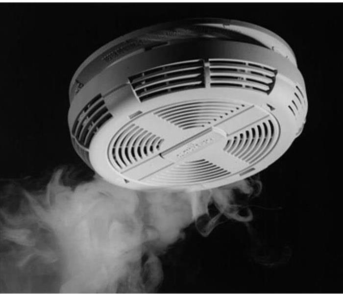 Fire Damage Smoke Detectors Save Lives