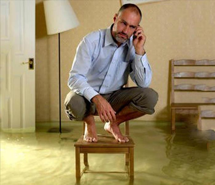 Water Damage Why Hire Your Local SERVPRO Professionals